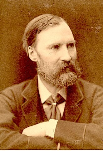 J. D. Sedding - Sedding in a photograph of 1882