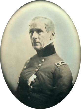 John E. Wool - Daguerreotype of General John E. Wool by Southworth & Hawes