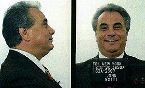 John Gotti - Gotti's 1990 mugshot