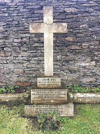 John Rae (explorer) - Rae's grave at St Magnus Cathedral