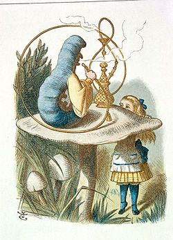 John Tenniel - Illustration from The Nursery Alice (1890) - c06543 03