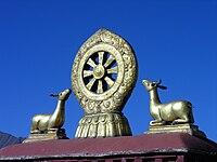 Jokhang dharma wheel-5447.jpg
