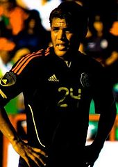 Jonathan playing for Mexico in 2011. Dos Santos ... 24c3087cb5885
