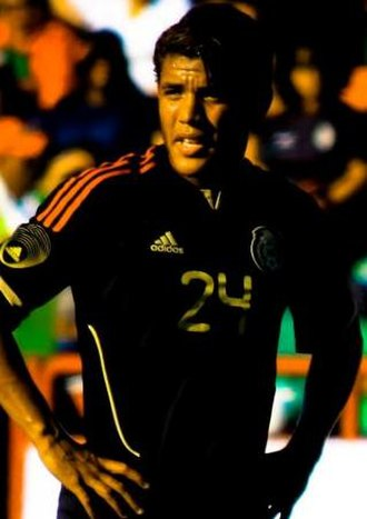 Jonathan dos Santos - Jonathan playing for Mexico in 2011.