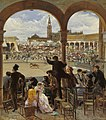 José Jiménez Aranda A Pass in the Bullring 1870.jpg