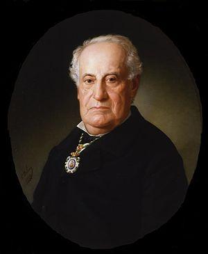 José María Avrial - José María Avrial; portrait by Eduardo Balaca (1888)