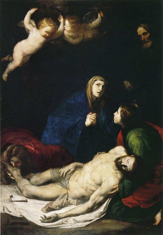 Pièta de José de Ribera au musée San Martino de Naples.