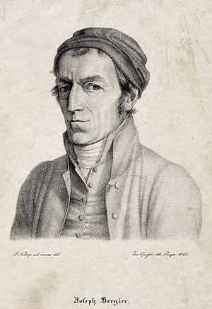 Joseph Bergler - Joseph Bergler, lithograph by Franz Nadorp, 1823