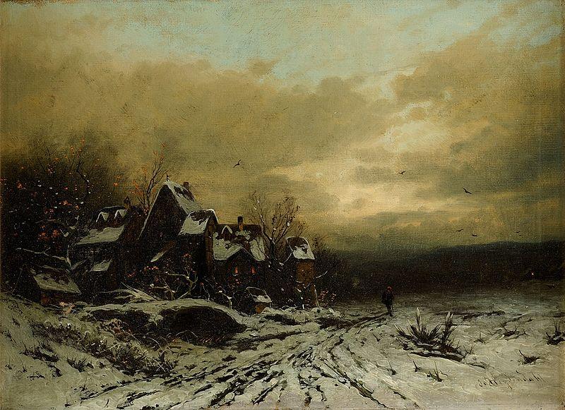 File:Joseph Heydendahl Winterabend.jpg
