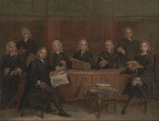Joseph Highmore - Study for a Group Portrait - Google Art Project