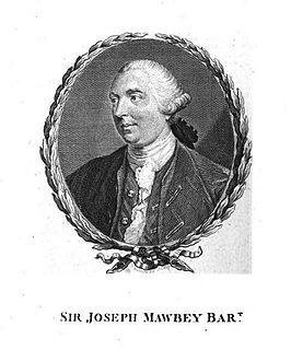 Joseph Mawbey British politician