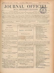 Edition of 7 October 1907