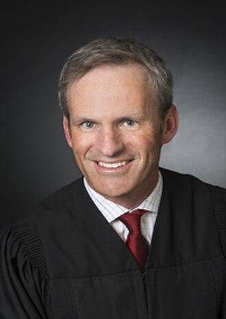 Brian Morris (judge) - Image: Judge Brian Morris (2014)