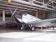 """Ju 52/1m replica of """"CF-ARM"""" at the Western Canada Aviation Museum, Winnipeg, Manitoba, Canada"""