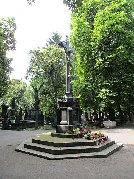 File:Kříž - Hřbitov Vinohrady 03.jpg