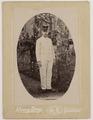 KITLV - 42654 - Kwong Seng - Singapore - Lieutenant, presumably from the KNIL, Singapore - circa 1900.tif