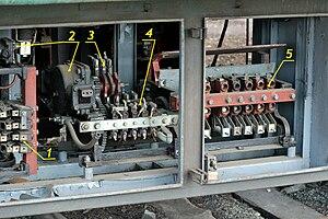 электрическая схема пускателей пви - 250 бт. схемы усилителей.
