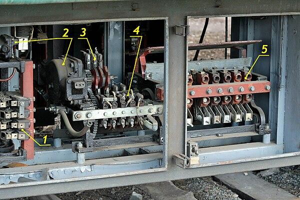 КСП-1А электропоезда ЭР2:
