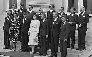 Second Lubbers cabinet Dutch cabinet (1986-1989)
