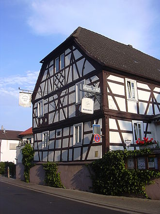 Kahl am Main - Timber-frame house (17th century)