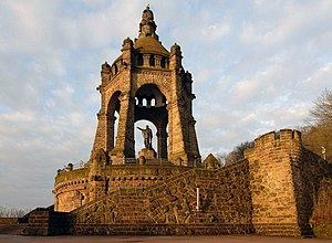 Emperor William Monument (Porta Westfalica) - The Emperor William Monument in 2006