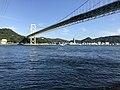 Kammonkyo Bridge from Mimosusogawa Park 2.jpg