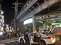 Kanda Station west exit and taxi night Aug 30 2019 09-34PM.jpeg