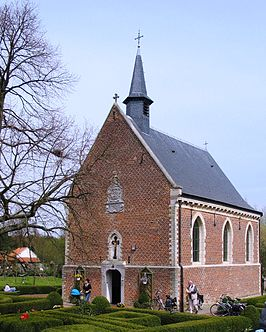 De kapel van Helshoven (april 2006)