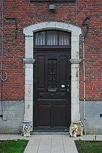 Kapellen - pastorie, voordeur