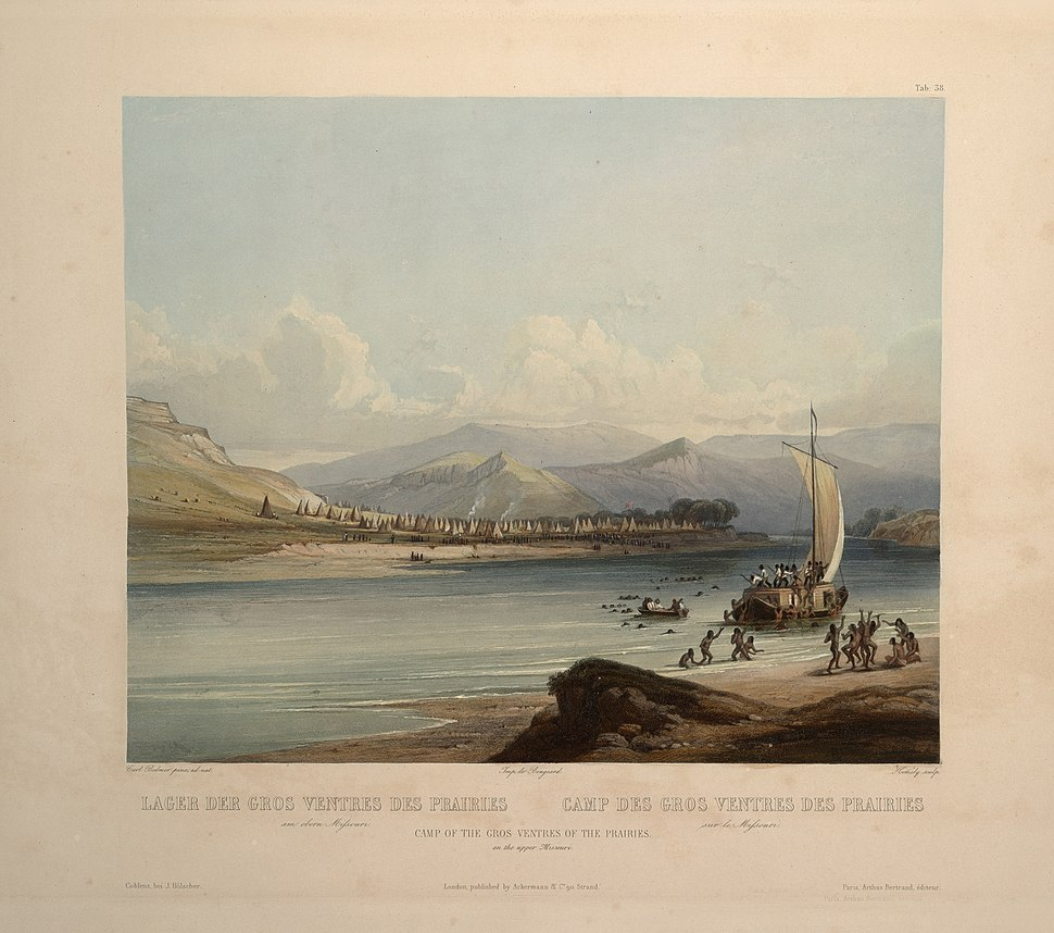 Karl Bodmer Travels in America (71)