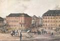 Karl Philipp Fohr 1795-1818 Der Luisenplatz zur Zeit der Freiheitskriege 1814 LaMuseumDa 2.png