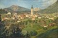 Kastelruth 1911 Gemälde von Eduard Burgauner.jpg