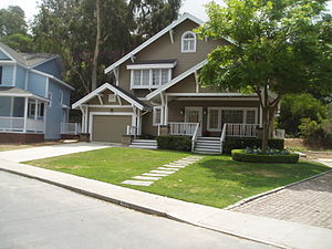 Desperate Housewives - The house of Katherine Mayfair on Wisteria Lane, as seen on Desperate Housewives from 2007 to 2010