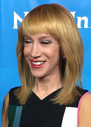 Kathy Griffin - Griffin at the 2015 TCA Press Tour