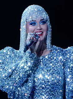 Katy Perry American singer, songwriter and actress