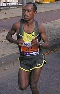 Tsegaye Kebede Ethiopian long-distance runner