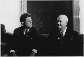 Partial Nuclear Test Ban Treaty - Kennedy and Khrushchev in Vienna