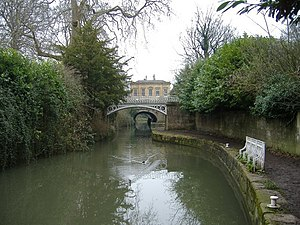 Sydney Gardens - Image: Kennet and Avon canal geograph.org.uk 340531