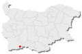 Khadzhidimovo location in Bulgaria.png