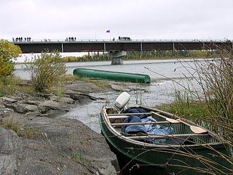 Division No. 22, Manitoba - The Kichi Sipi Bridge (Manitoba Provincial Road 373)