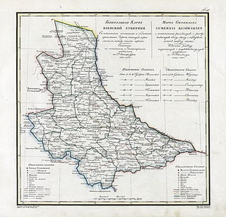 Kiev Governorate governorate of the Russian Empire