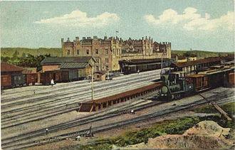 Kiev-Pasazhyrskyi railway station - Image: Kiev Passenger Station (XIX century)