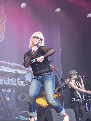 Kim Wilde - Wilde performing at Bospop in July 2007