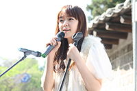 Kim Yoon-ah at the 2011 World Fair Trade Day Festival in Korea 094.jpg