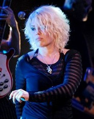 Kim Wilde - Wilde on stage in 2007