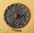 Kinesisk bronsspegel - Hallwylska museet - 98741.tif