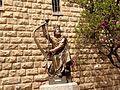 King David statue in Jeruzalem (Israël 2015) (16869295417).jpg