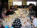 King Tut and Sutton Hoo masks being constructed.jpg