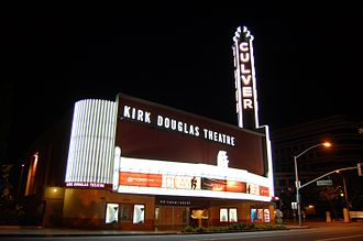 Kirk Douglas Theatre - Kirk Douglas Theatre during the run of Clay, a 2008 hiphop Shakespeare inspired musical.