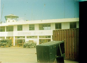 Kismayo - The Kismayo Airport.